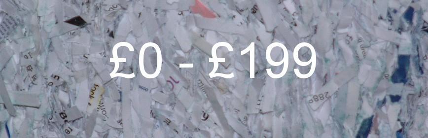 £0 - £199
