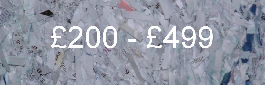£200 - £499