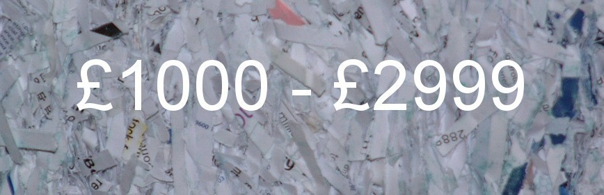 £1000 - £2999