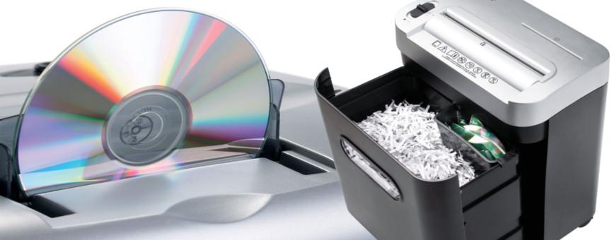 Dahle range of security paper shredders