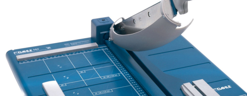 Dahle Guillotines The choice of professionals.